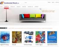 Website - Continental Decal Ltd